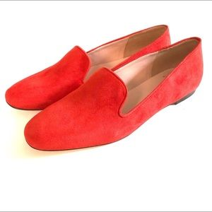 J Crew Darby Suede Smoking Loafers